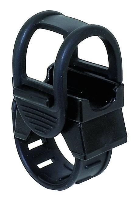 Держатель 5-223523 универсальный для фары/насоса/плеера/смартфона на руль черный, фото 1