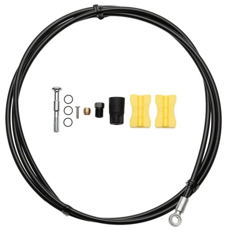 Гидролиния SHIMANO Saint BH90-SB 1700 мм, обрезной, черного цвета,TL-BH61 ISMBH90SBL170
