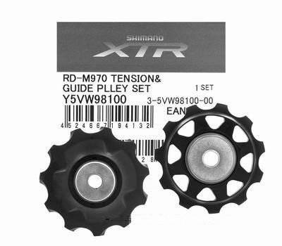 Фото - Ролик для велосипеда Shimano к RD XTR, верхний+нижний для RD-M970 Y5VW98100 блок верхний нижний body craft для f410 f411