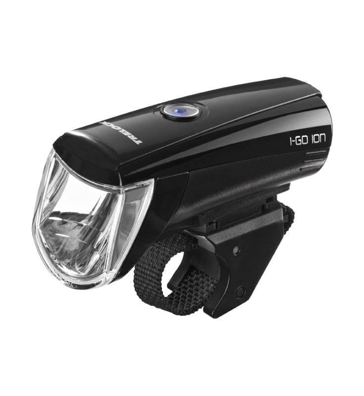 Фонарь передний TRELOCK LS 750 I-GO® ION 30 FB чёрный ZL700 USB