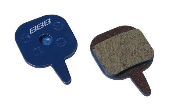 Тормозные колодки BBB DiscStop comp.w/Tektro io/novela, синий, BBS-75