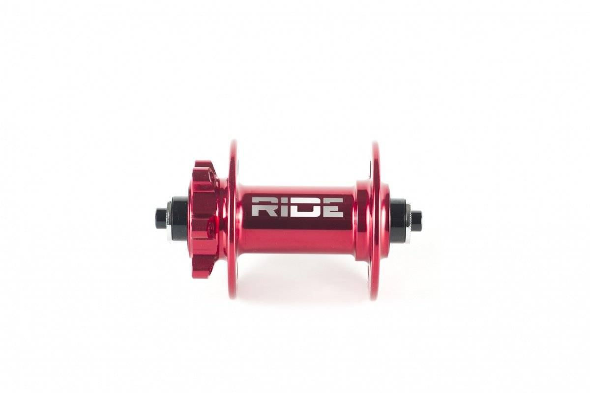 Втулка передняя RIDE Trail QR, 32h, 100 мм, красный, RFT32100R, фото 2