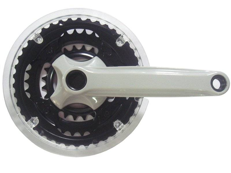 Система шатунов велосипедная CYCLONE SP5-TS340P17, под квадрат 22/32/44Тх170мм, сталь, SP5-TS340P17