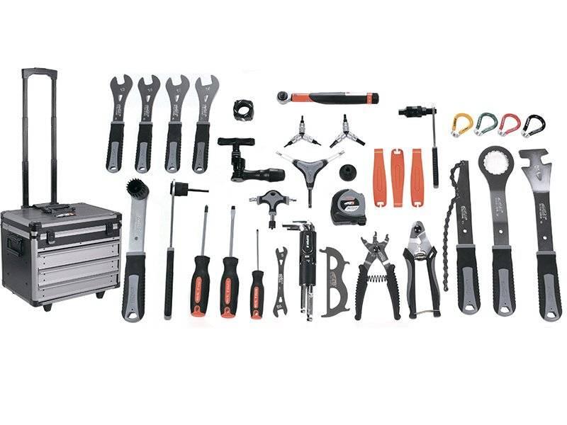 Набор инструментов SUPER B (Premium) TB-98800, профессиональный, в передвижном кейсе, TB-98800