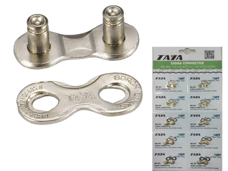 Соединительное звено цепи TAYA, 5/ 6 скоростей, 1/2x3/32, 1 комплект, 10 блистеров, SC-25