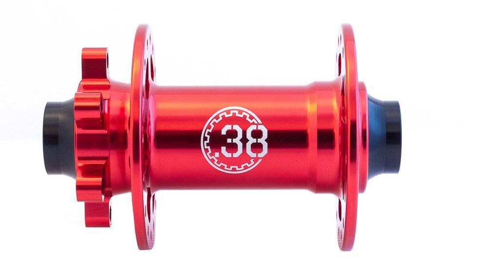Втулка передняя Colt Bikes .38 15mm, 32h, красный, фото 2