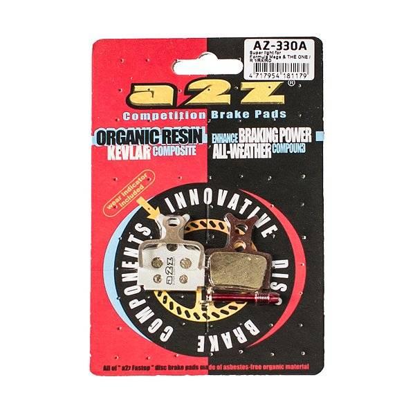 Тормозные колодки A2Z Formula Mega & THE ONE, R1/RX/RO, серебристый, AZ-330A тормозные колодки a2z formula mega
