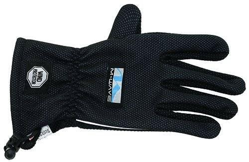 Перчатки 5-719961 длинные пальцы утепленные флис   3MSCOTCHLINE M черные M-WAVE, фото 1