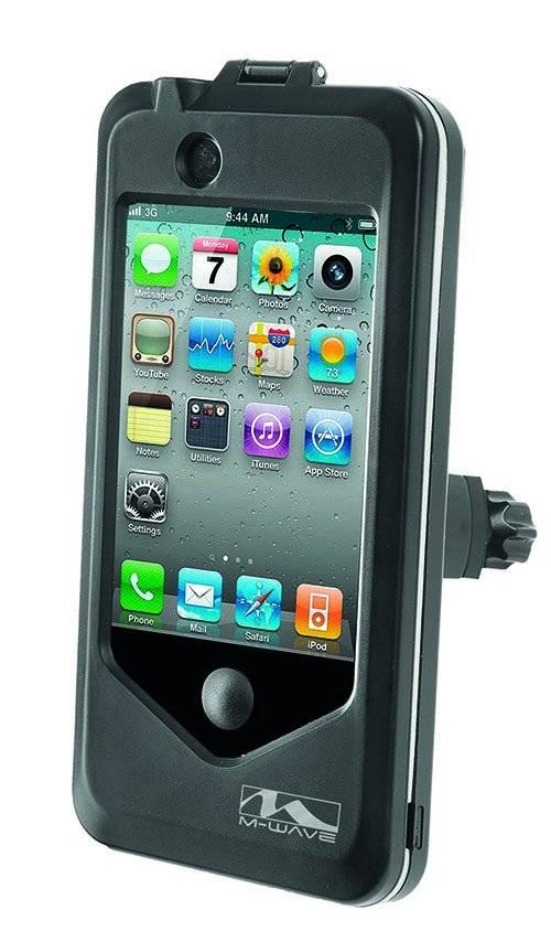 Чехол M-Wave на руль для смартфона 115х59х9 мм ABS пластик черный 5-122378, фото 1