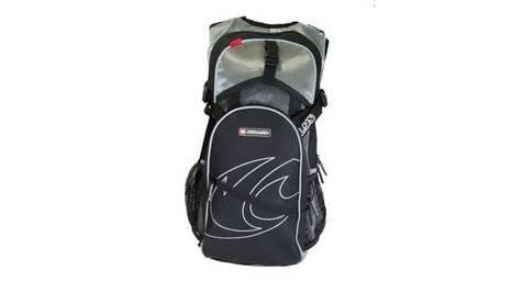 Велосипедный рюкзак KELLYS STREET, обьём 12 л, цвет: серебряный