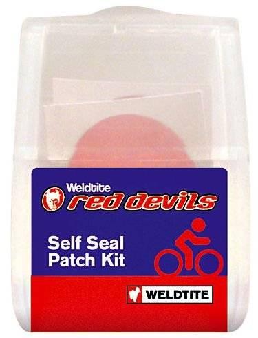 Аптечка Weldtite 6 суперсамоклеек+шкурка Red Devils 7-01021, фото 1