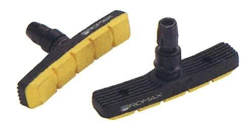 Тормозные колодки PROMAX симетричные 70мм (20) черно-желтые 5-361765