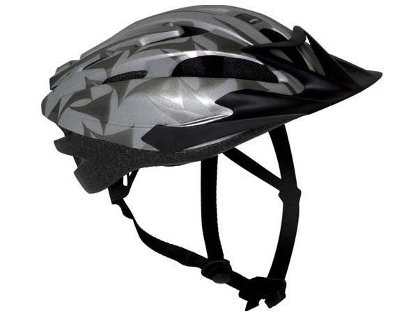 Велошлем HAMAX DYNAMIC, цвет серый с орнаментом, L(58-62см), 120-5820-16