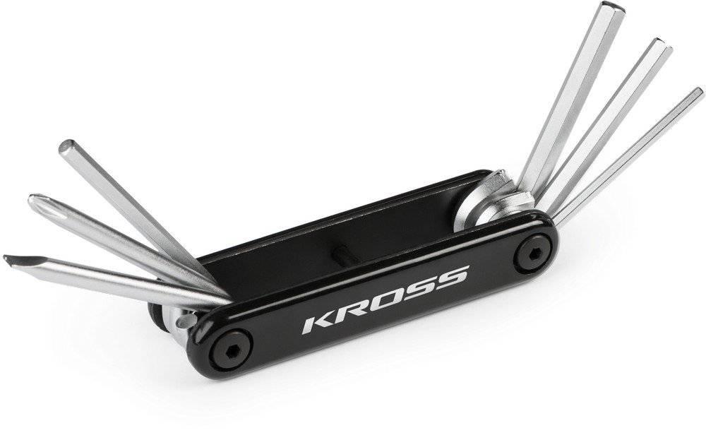 Многофункциональный набор инструментов для велосипеда Kross FEST-6 функций, черный, T4CKU000133BK