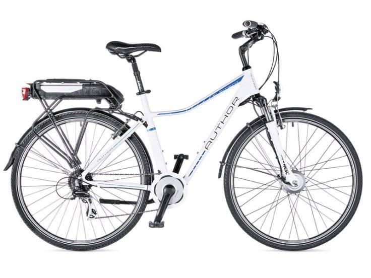 Гибрид-велосипед Author Element 2014