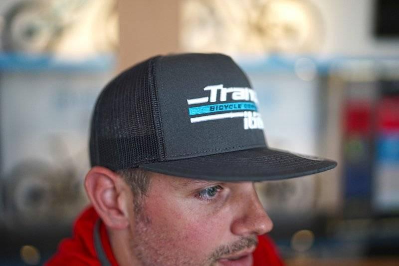 Кепка TBC Trucker Hat (Size: Adjustable, Color: Charcoal, Graphic: TR Split Logo), фото 2