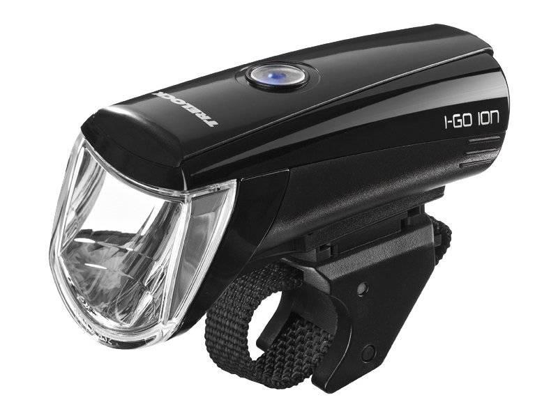 Фонарь диодный TRELOCK LS 750 I-GO ION, передний, 4 режим, чёрный, 8002434
