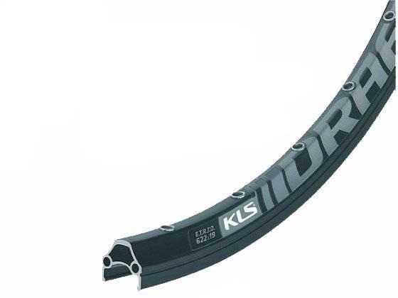 Обод велосипедный KELLYS KLS DRAFT DSC, 26, пистонированный, KLS DRAFT DSC, 32H, 1 NIT, AV, 26 BLACK