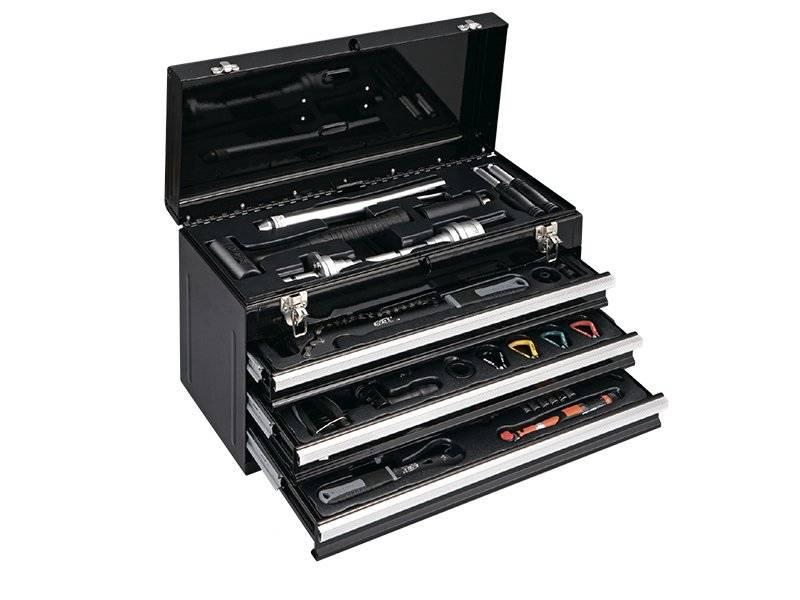 Набор инструментов SUPER B (Premium) TB-98750, профессиональный, 53 предмета, TB-98750