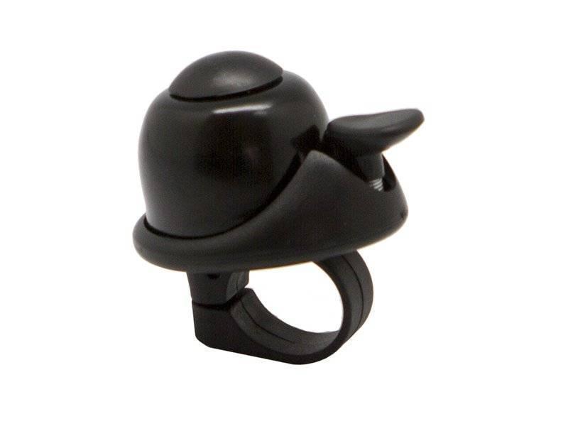 Звонок TBS FY-061-BK, ударный, 40 мм, алюминий/пластик, чёрный, FY-061-BK