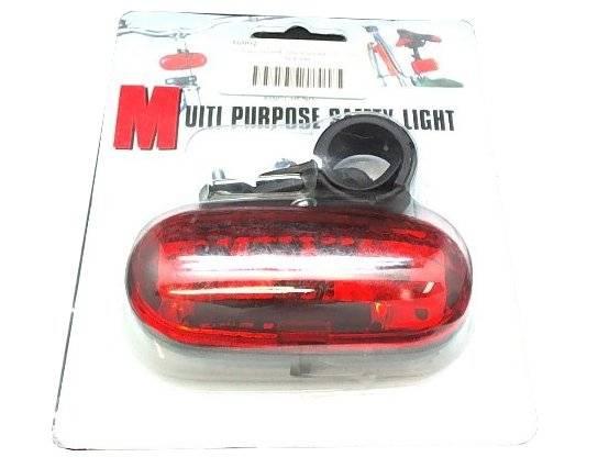Фото - Фонарь велосипедный задний TBS, 3 диода, 2 режима, в торговой упаковке, XC-SW-3 AM PACKING фонарь велосипедный xc 910t задний 3 светодиода 3 режима w0443
