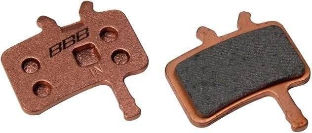 Тормозные колодки BBB DiscStop comp.w/Avid Juicy 7 Juicy 5 and Juicy 3w/spring, коричневый, BBS-42S