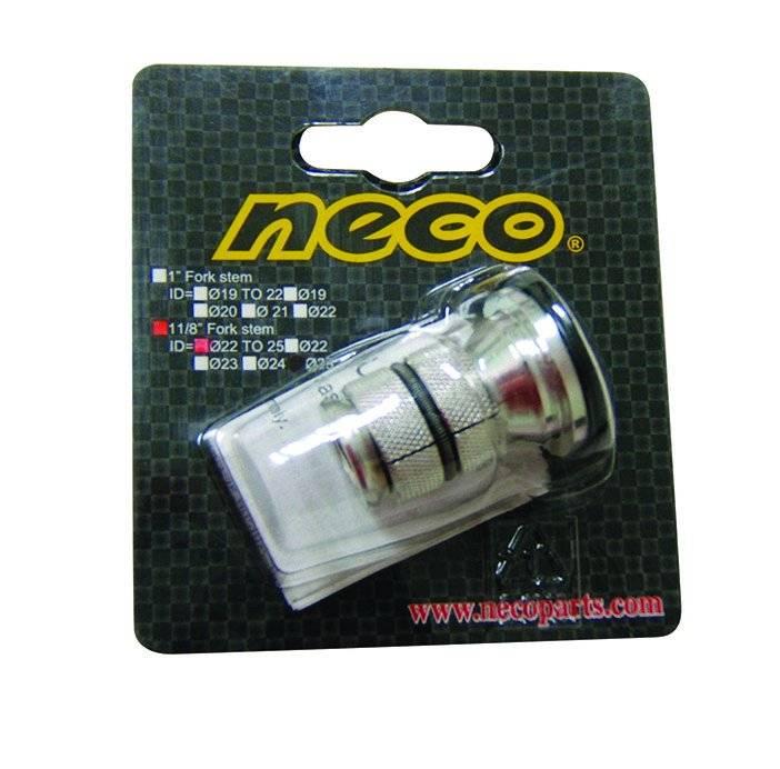 """Паук NECO 1 1/8"""" с болтом для AHEAD-систем и рам черный 5-390367, фото 1"""