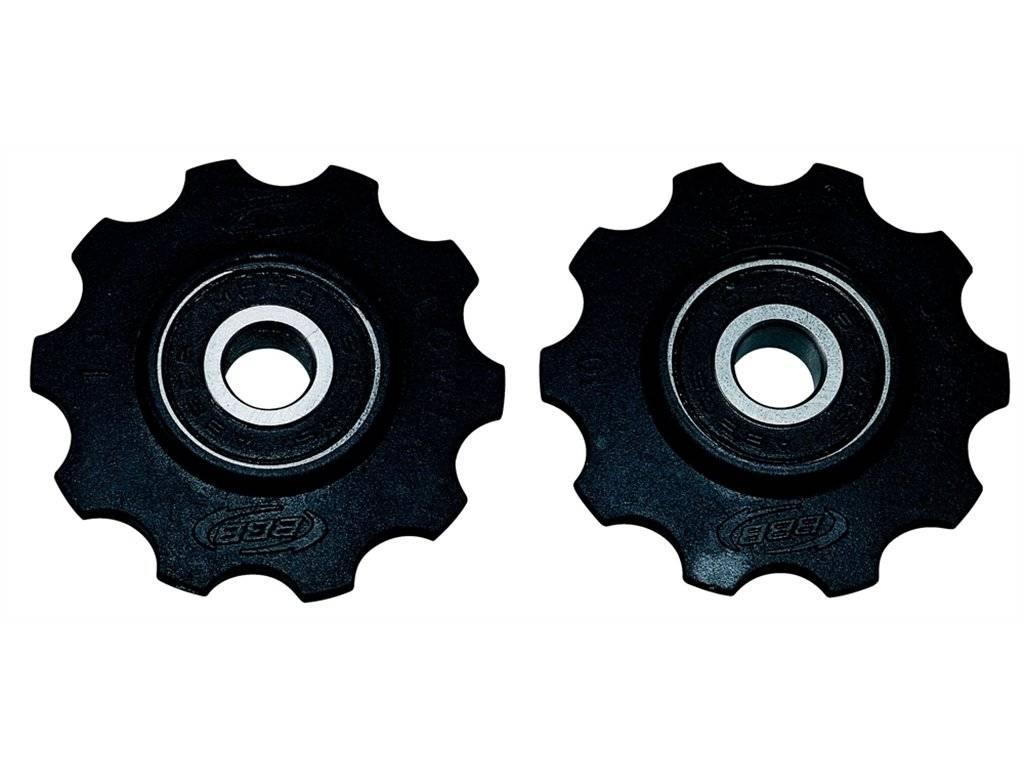 Ролики переключения BBB RollerBoys 10T, черный, BDP-01