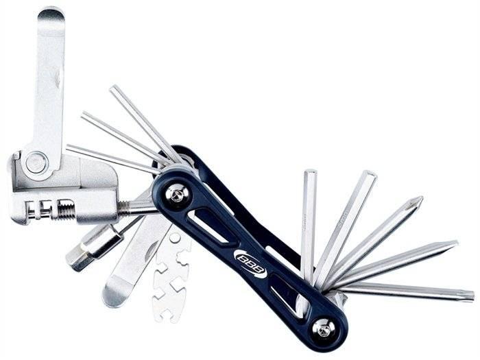 Мультитул для велосипеда BBB MaxiFold, L 14 функций, BTL-41L