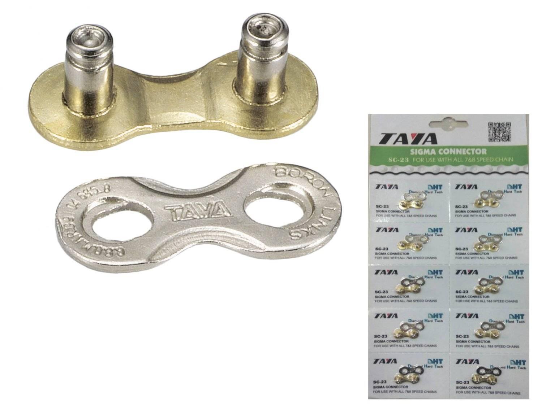 Соединительное звено цепи TAYA, 7/ 8 скоростей, 1/2x3/32, 1 комплект/блистер, SC-23