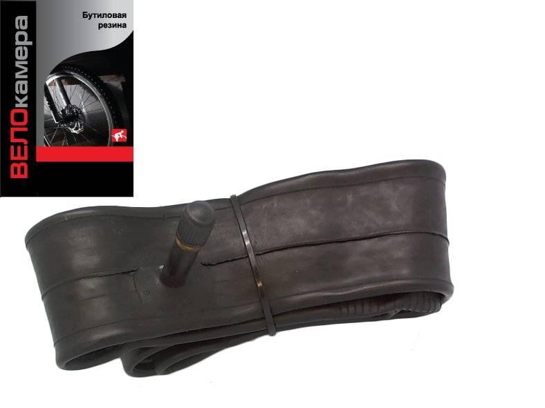 Камера велосипедная SUNCHASE, 27.5x1.9/2.10, A/V 35 мм, бутиловая резина, автониппель