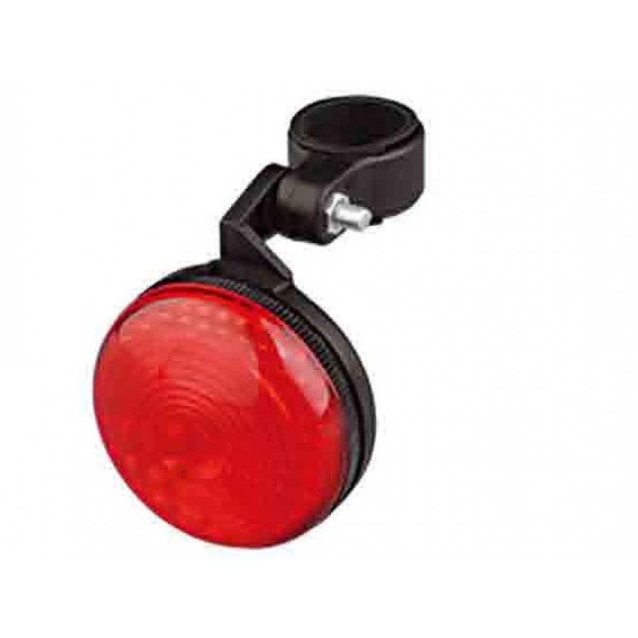 Фото - Фонарь велосипедный задний, 1 диод, 2 режима, батарейки в комплекте, XC-SW-5 фонарь велосипедный xc 910t задний 3 светодиода 3 режима w0443