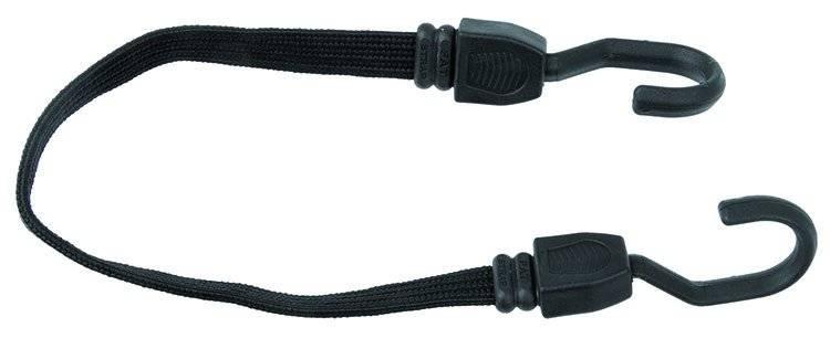 Резинка на багажник 800х19мм плоская, для крепления, с увеличенными крючками, черная, 5-780166, фото 2