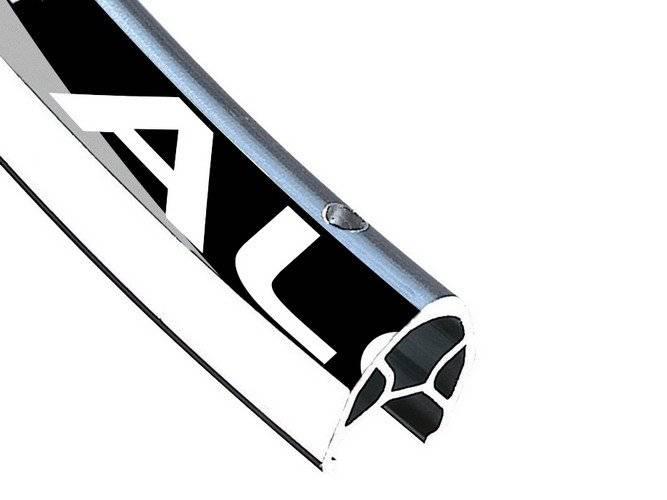 Обод велосипедный ALEX RIMS R450 700Сx14мм,32Н, двойной, (Шоссе/туризм), CSW, серебряный, R450