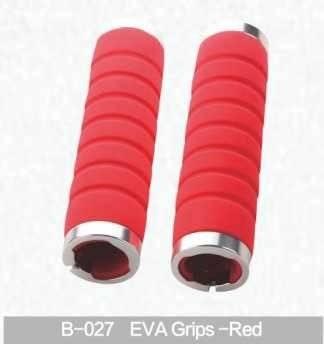 Грипсы для руля Kivi, Eva, красный, B-027