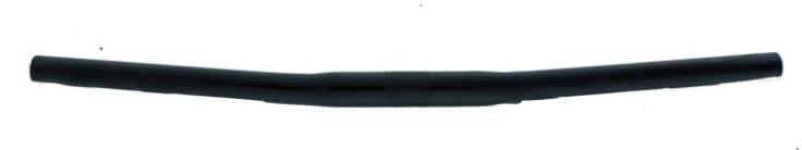 Руль велосипедный M-WAVE, МТВ, сталь, прямой, 22,2 / 25,4 x 580 мм, черный, 5-403682