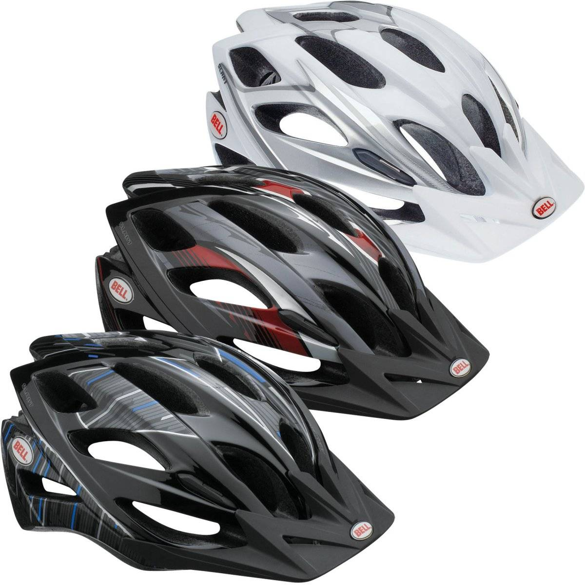 Набор сменных подушек для велошлема Bell SLANT BE916348