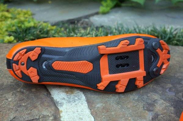 Велообувь Lake MX237-X, оранжево-черный, фото 3