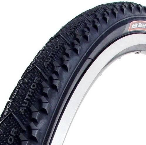 Покрышка для велосипеда Author 700х38С SILK ROAD полуслик 27 TPI PANARACER/8-37596617