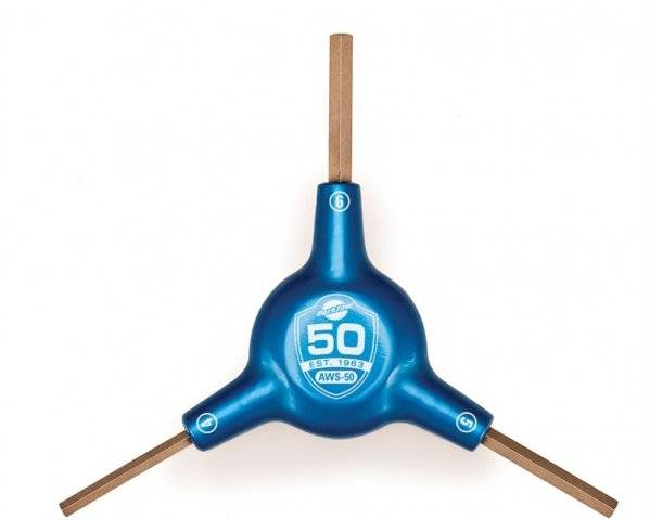 Ключ Y-образный, 4/5/6мм, шестигранники, юбилейный PTLAWS-50
