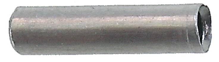Колпачки/3аглушки на тросики универсальные алюминий 2,1/2,9х10,3мм, 1шт, 5-370283