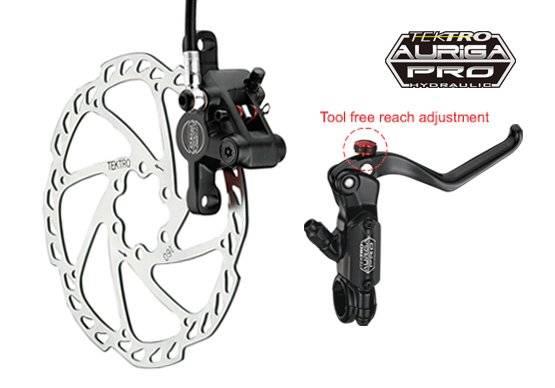 Тормозной набор велосипедный TEKTRO передний диск. гидр. AurigaPro ротор 160мм 6-700