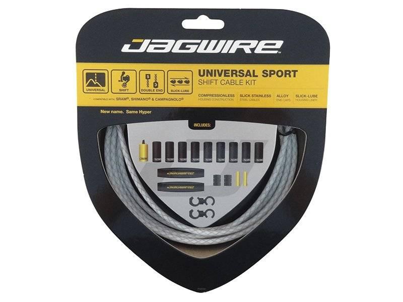 Тросы с оболочками JAGWIRE для переключателей комплект Universal Sport Shift,