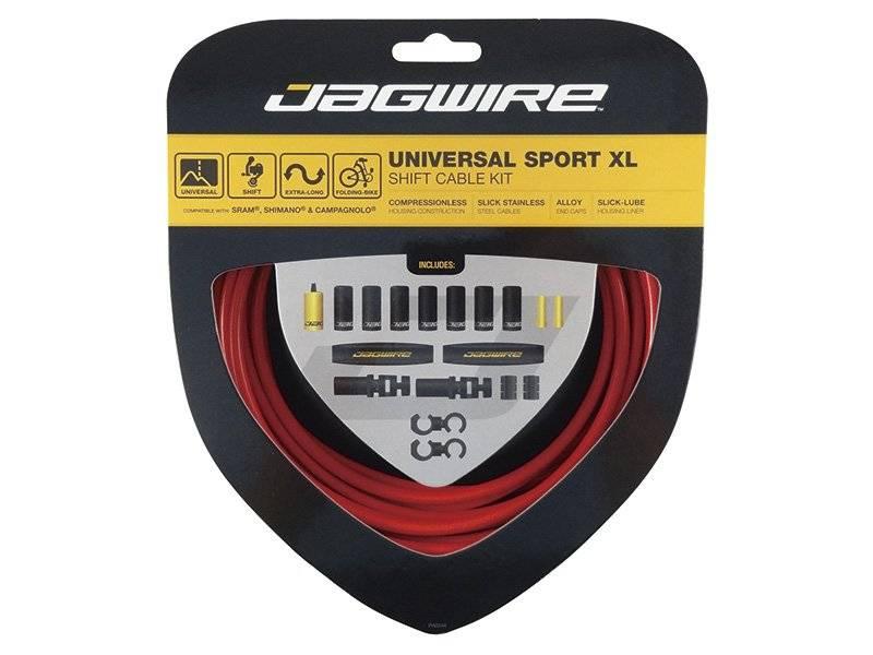 Тросы с оболочками JAGWIRE Universal Sport Shift XL, длинные, для переключателей, комплект, UCK602