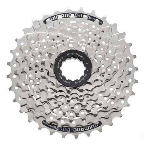 Кассета велосипедная Shimano Altus 8х11-32 серебристая ECSHG418132 2-1041