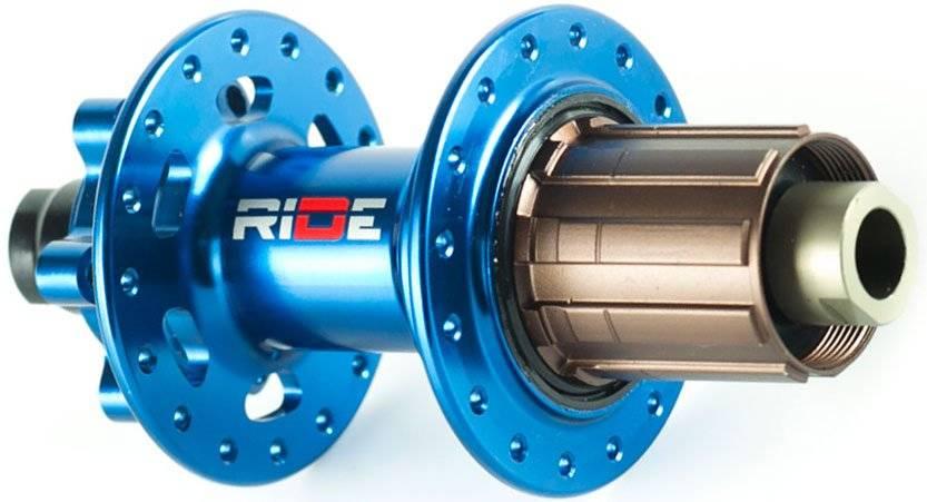 Втулка задняя RIDE Enduro, 32h, 12x142 мм Anti Bite, синий, RREAB3212X142BL, фото 1