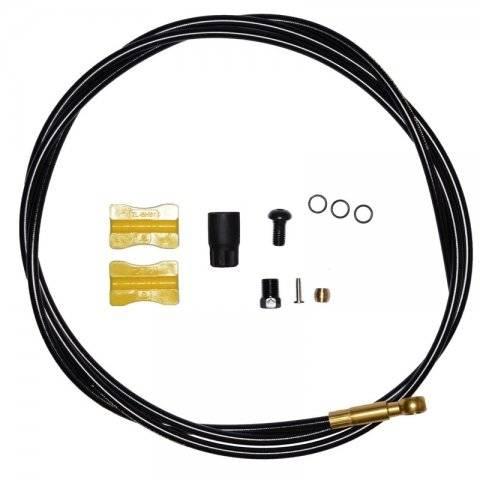 Гидролиния SHIMANO Saint BH90-SBLS 1000 мм, обрезной, цвет черный, TL-BH61 ISMBH90SBLSL100