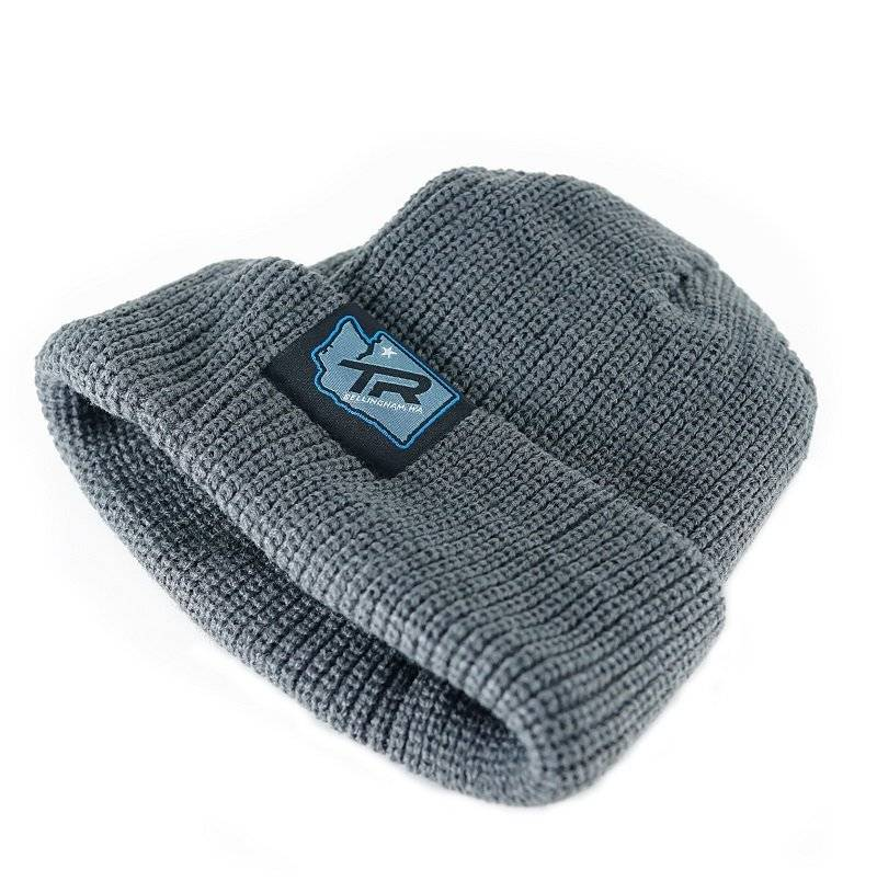 Шапка TBC Tag Beanie Hat (Hometown Logo, Grey), фото 1
