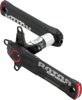 Шатуны с измерителем мощности Rotor 2Inpower BCD110 Black/Red 172.5mm (C13-026-20010-001), фото 1