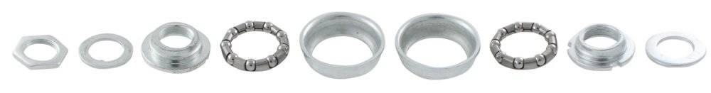 Чашки для каретки BMX сталь D=51мм для систем 5-359393 серебристые 5-359396, фото 1